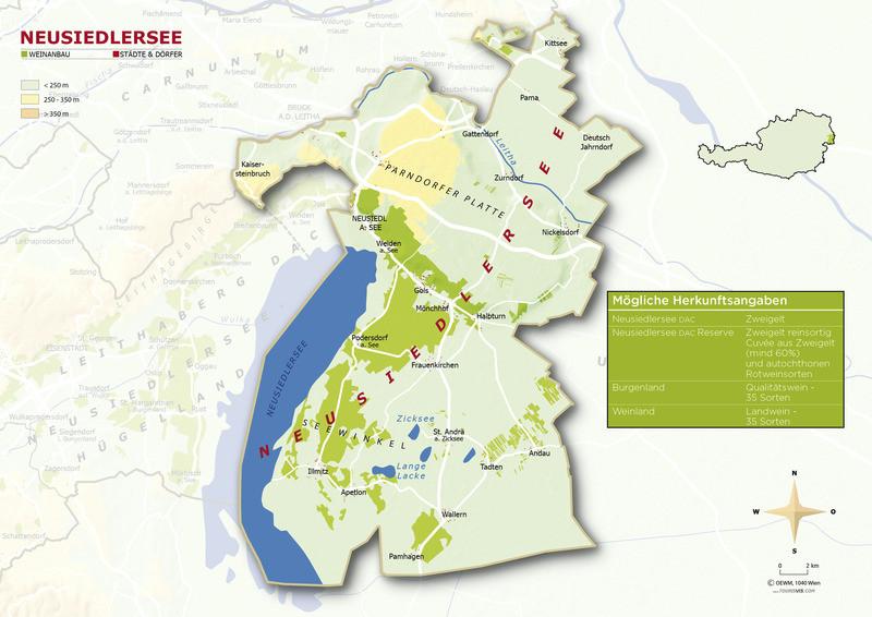 Topografische Karte Neusiedlersee - ÖWM/Photograph