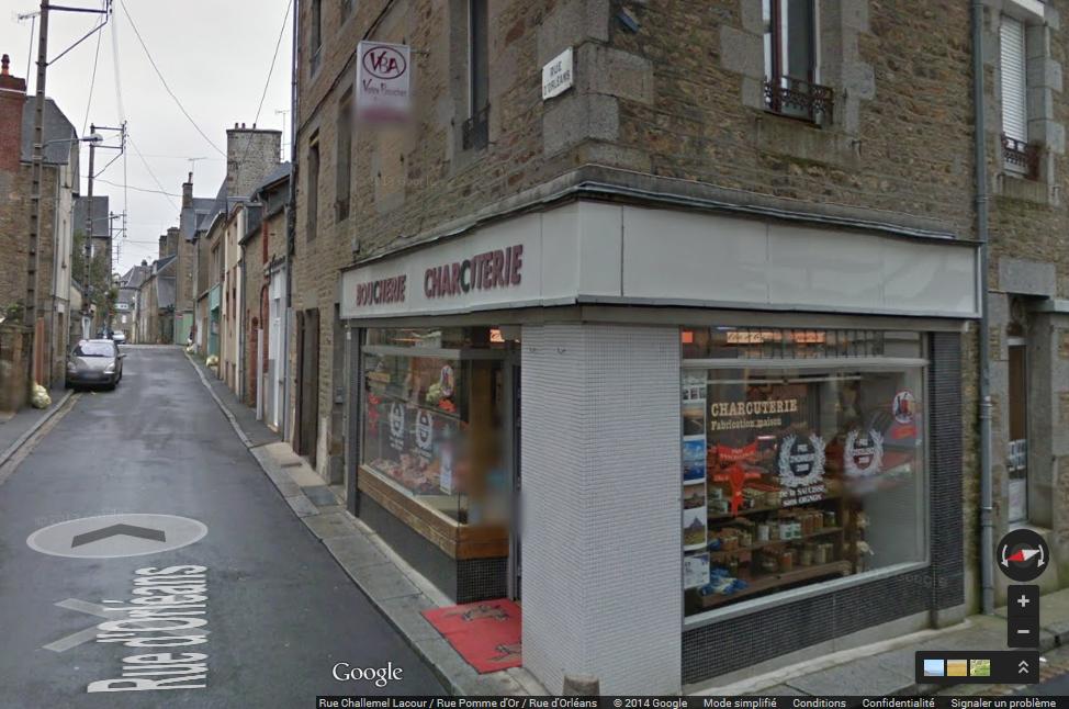 Boutique AVRANCHES centre-ville 2 rue d'Orléans
