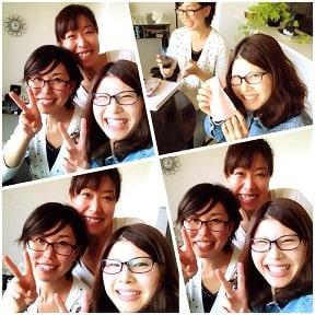 東京リラックセーションアカデミースクールブログ。リンパケアリストコース卒業生中村さんの写真
