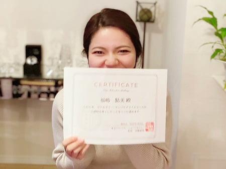東京リラックセーションアカデミースクールブログ。リンパケアリストコース受講生鮎美さん