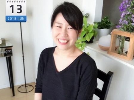東京リラックセーションアカデミースクールブログ。ボディセラピストコース在校生関口さんの写真