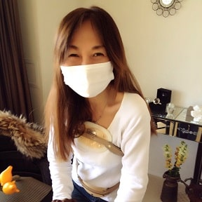 東京リラックセーションアカデミースクールブログ。全身リンパオイルトリートメントコース卒業生入野さんの写真