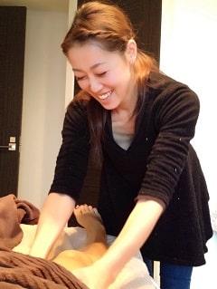 東京リラックセーションアカデミースクールブログ。プチ1DAY講座受講生の方の写真