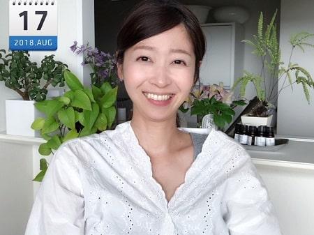 東京リラックセーションアカデミースクールブログ。リンパケアリストコース卒業生長谷川さんの写真