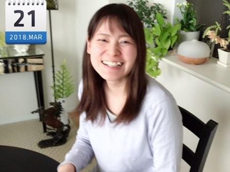 東京リラックセーションアカデミースクールブログ。ボディケアリストコース在校生原さんの写真