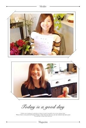 東京リラックセーションアカデミースクールブログ。整体師コース卒業生山内さんの写真