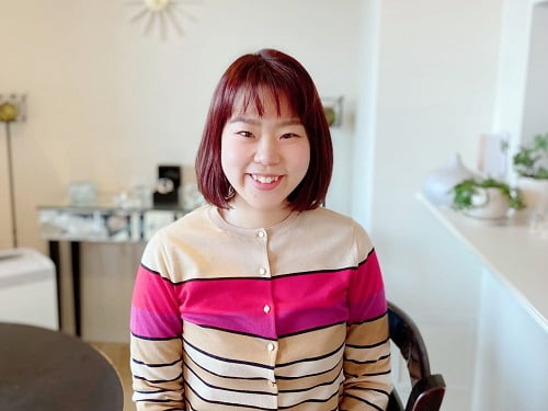 自宅サロンを開業されたアロマセラピストコース卒業生太田さん