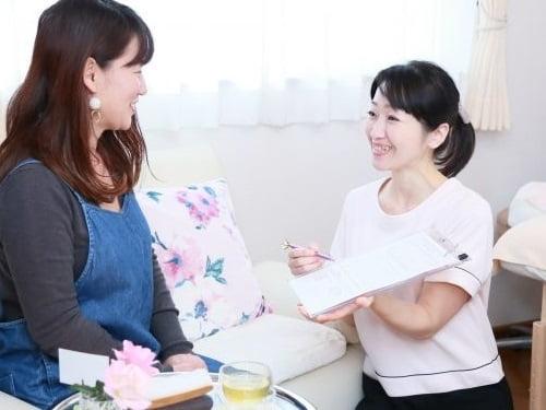 自宅サロンを開業されたリンパケアリストコース卒業生山野井さん