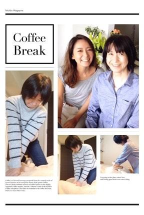 東京リラックセーションアカデミースクールブログ。整体師コース在校生江澤さんとリンパセラピストコース在校生伊藤さんの写真