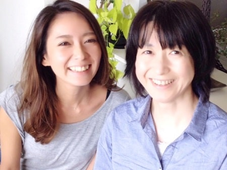 リンパセラピストコース在校生伊藤さんと整体師コース在校生江澤さん