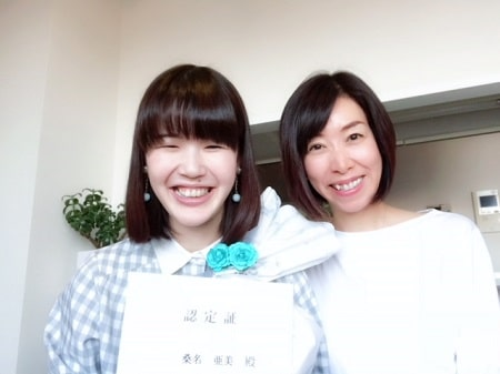 ボディセラピストコース卒業生桑名さん