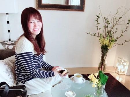 東京リラックセーションアカデミースクールブログ。整体とリフレが習得できるボディケアリストコース卒業生原さんの写真