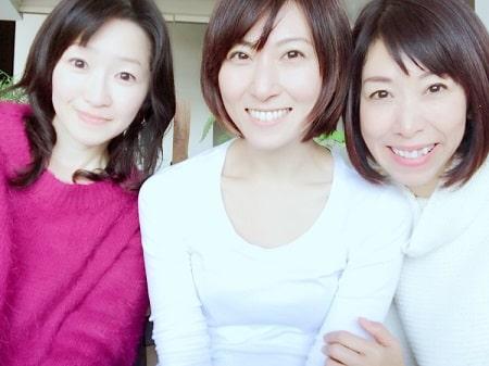 リンパケアリストコース卒業生山野井さんとアロマセラピストコース在校生伊藤さん