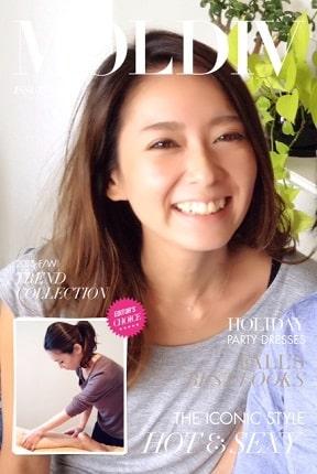東京リラックセーションアカデミースクールブログ。リンパセラピストコース卒業生伊藤さんの写真