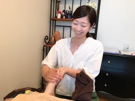 【リフレ】リンパケアリストコース 長谷川さん