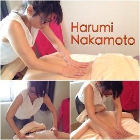 東京リラックセーションアカデミースクールブログ。全身リンパオイルトリートメントコース在校生ハルミさんの写真