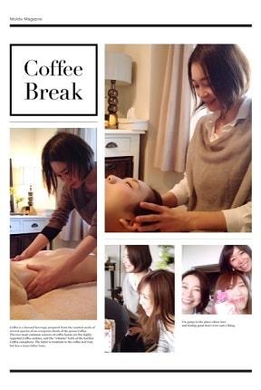 東京リラックセーションアカデミースクールブログ。ボディセラピストコース在校生菊間さんの写真