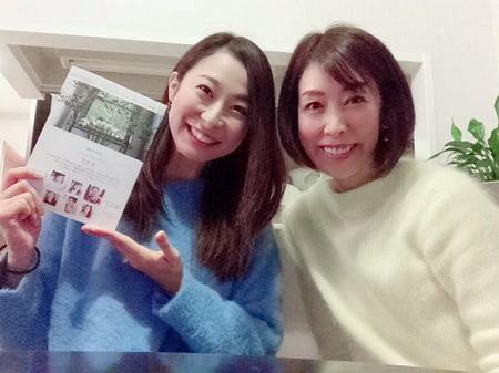 東京リラックセーションアカデミースクールブログ。1日講習受講生石毛さんとの記念写真