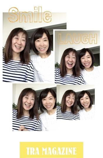 東京リラックセーションアカデミースクールブログ。寝て行うヘッドマッサージ、目の疲れ20分コースが学べる講習受講生長崎さんとの記念写真