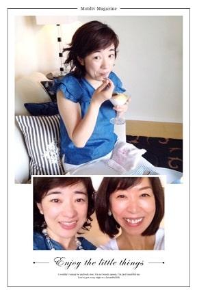 東京リラックセーションアカデミースクールブログ。フットセラピストコース卒業生大竹さんの写真