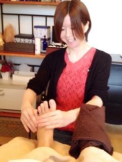 東京リラックセーションアカデミースクールブログ。ボディセラピストコース在校生佐藤さんの写真