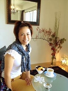 東京リラックセーションアカデミースクールブログ。サロンにご来店くださった1日講習受講生の方の写真
