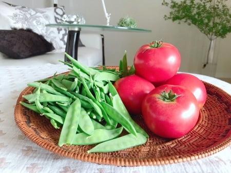 東京リラックセーションアカデミースクールブログ。仲田さんから頂いた野菜の写真