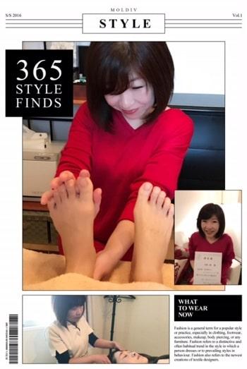東京リラックセーションアカデミースクールブログ。全身リンパオイルトリートメントとリフレクソロジーが習得できるリンパケアリストコース卒業生河西さんの写真