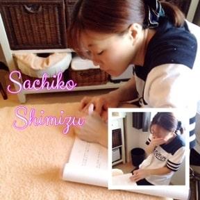 東京リラックセーションアカデミースクールブログ。全身リンパオイルトリートメントコース在校生の写真