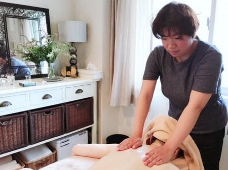 【オイル】リンパセラピストコース 庄司さん