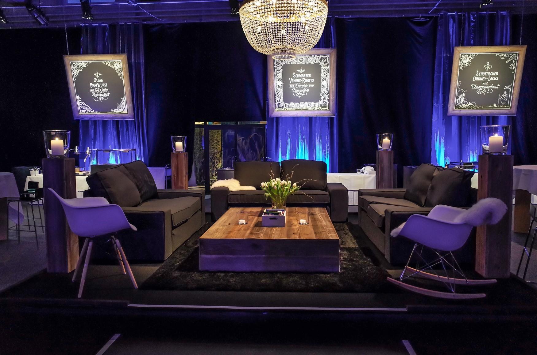 Event Lounge mieten  Agentur für Emotion GmbH, Schweiz
