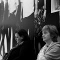 Die Autorinnen Jelena Lengold und Ljubica Arsić auf der Leipziger Buchmesse