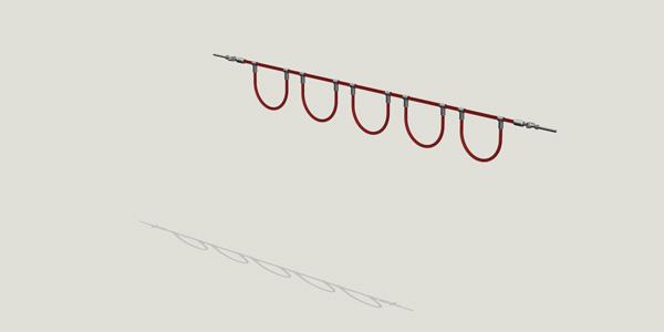 Schlangenschaukel – snake-swing