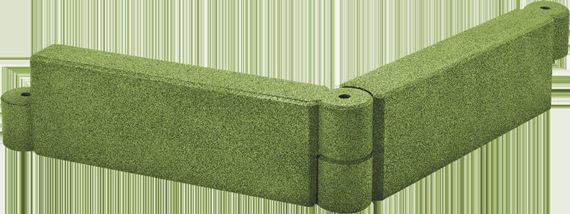 Sandkasteneinfassung EPDM grün