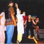 una delle prime rappresentazioni teatrali dei FuoriXCaso