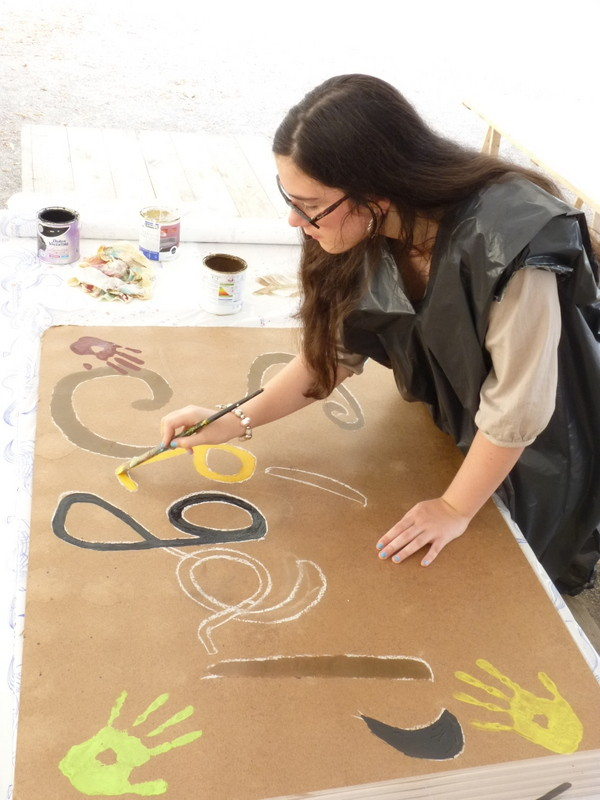 Déco pour le Festival Ségal'art