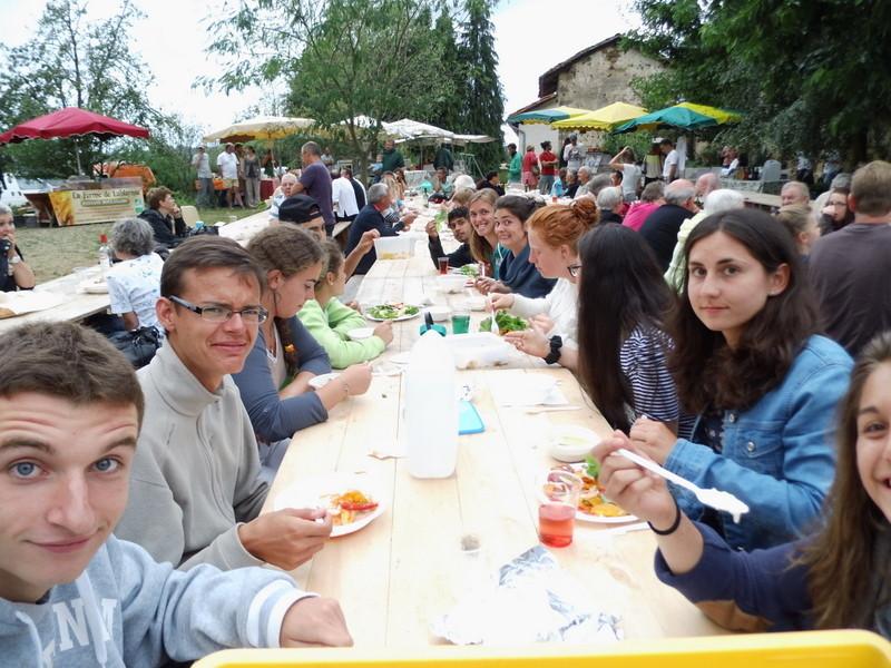 Repas à la ferme chez Ferrand