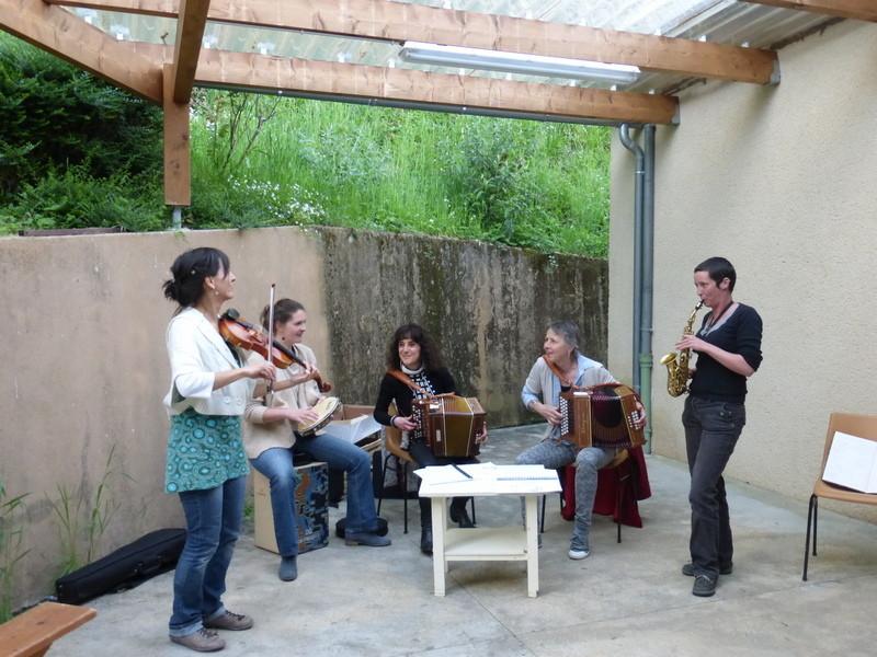 Inauguration en musique pour St Perdoux !