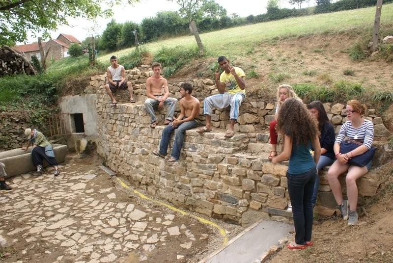 wouha! Le mur est achevé. 2012