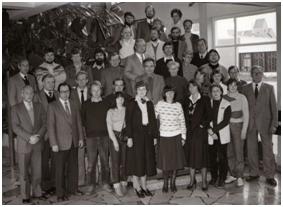 Lehrerkollegium im Jahre 1982