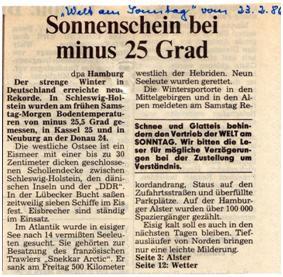 Wetterkapriolen 1986