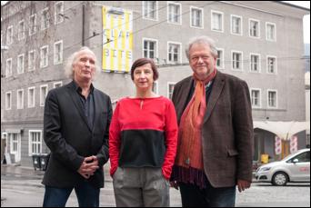 v.l.n.r.: Michael Stolhofer, Angela Glechner, Alfred Winter ©Bernhard Müller