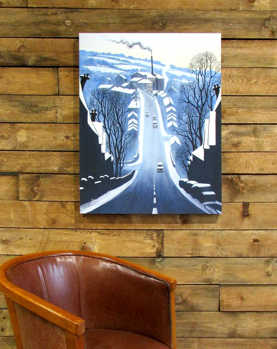 'Swizzels Hill 2' 80cm canvas