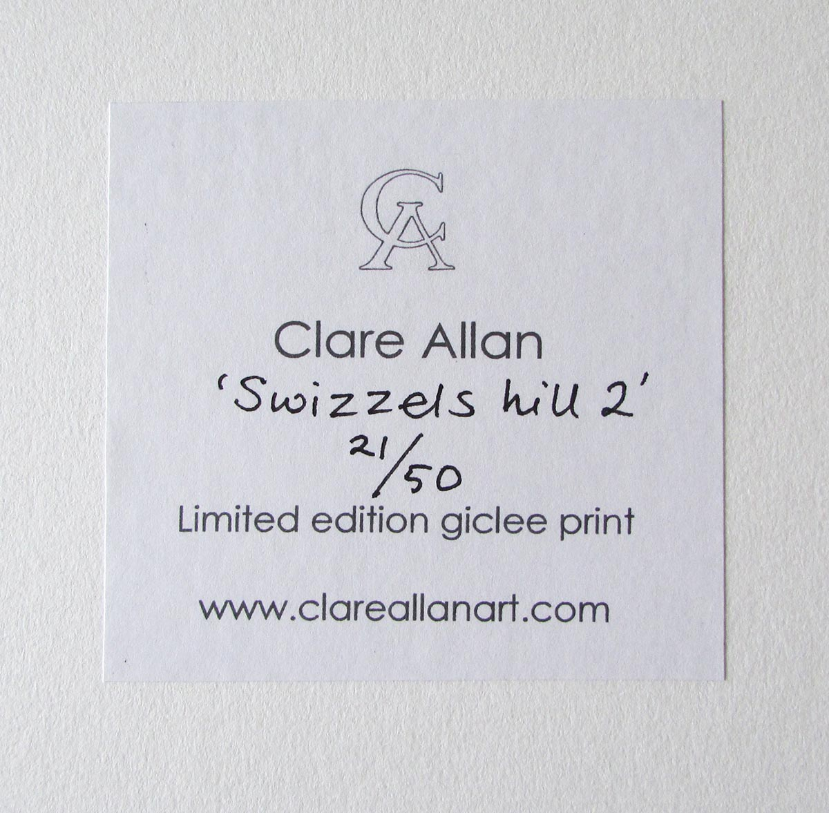 What Is A Fine Art Paper Print? - Clare Allan Art