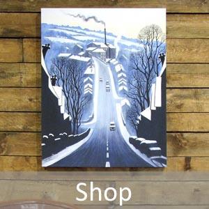 fine art landscape and street scene online shop