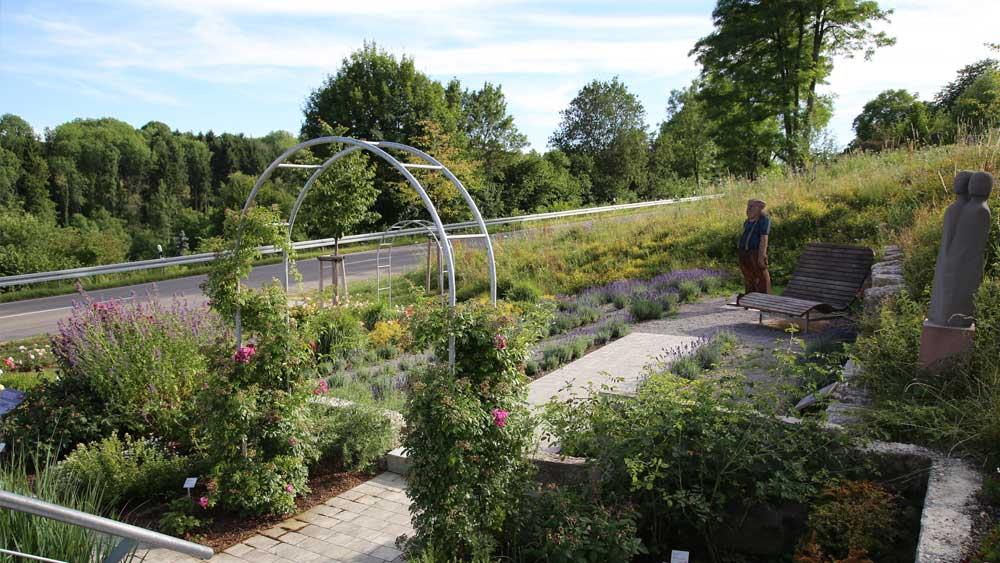 Rosenfelder Rosen- & Skulpturengarten