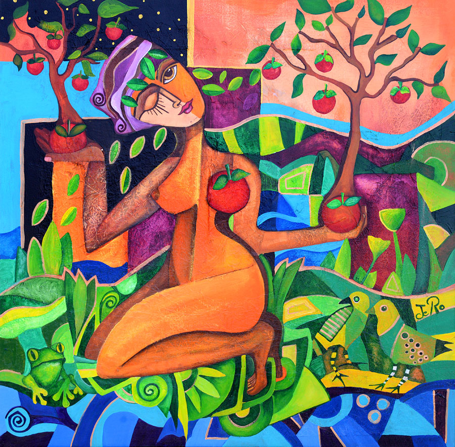 Der Mensch  lernt sich bewusst mit der Natur auszubalancieren