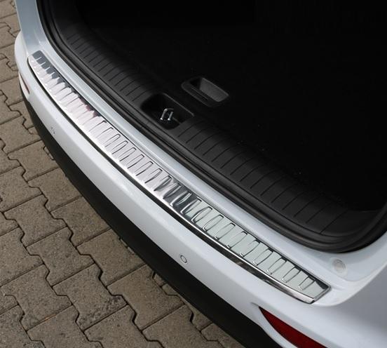 LWLD Paraurti Posteriore Protezione Acciaio Inossidabile Tronco Soglia di Lamiera di Protezione Protezione Anti-graffio per Nissan X-Trail 2014-2019 Resistente ai Graffi