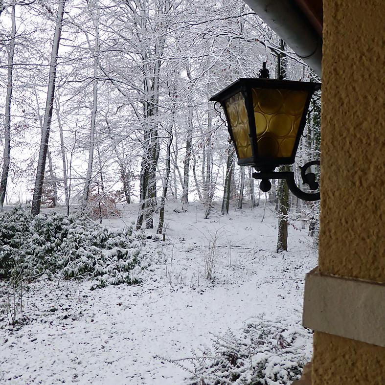 Ferienwohnung Im Waldwinkel, Winterzauber