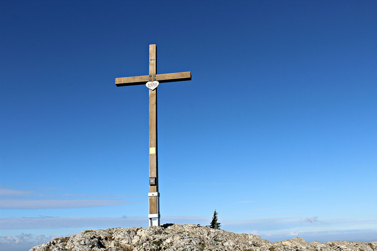Gipfelkreuz Lochenstein